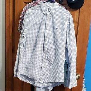 Polo Ralph Lauren Dress Shirt Size Large